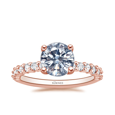 Brielle 75 Trellis U-Prong Engagement Ring