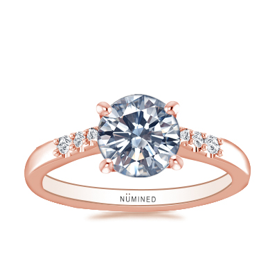 Abbi Diamond Accented Engagement Ring