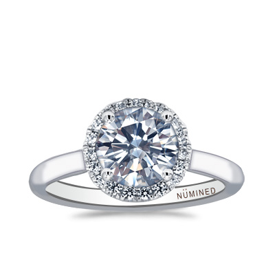 Mallia Classic Halo Engagement Ring