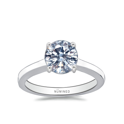 Laela Modern Classic Solitaire Engagement Ring