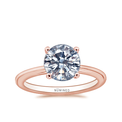 Ella Classic Basket Solitaire Engagement Ring