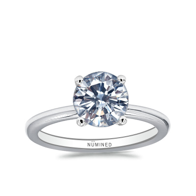 Noel Pave Basket Engagement Ring