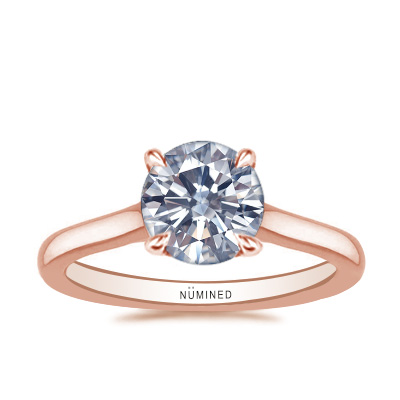 Carinna Unique Cathedral Solitaire Engagement Ring