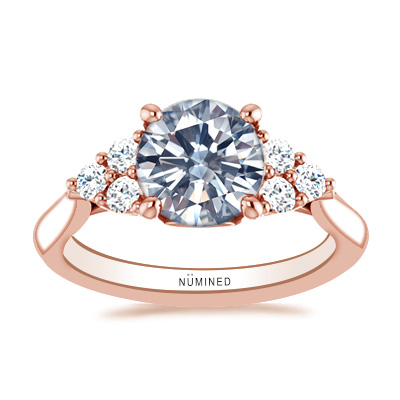 Marcy Diamond Accented Engagement Ring