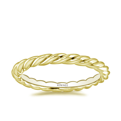 Rope Eternity Ring – Thicker